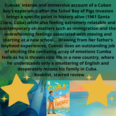 Cuevas' intense and immersive account of a Cuban boy's experience after the failed Bay of Pigs Invasion brings a specific point in history alive (1961 Santa Clara, Cuba) while also feeling extremely relatable and c